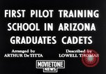 Image of Army Air Cadets Arizona United States USA, 1942, second 4 stock footage video 65675039329