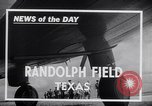 Image of United States Army Air cadets Randolph Field San Antonio Texas USA, 1941, second 8 stock footage video 65675039335