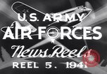 Image of United States Army cadets Alabama United States USA, 1941, second 6 stock footage video 65675039343
