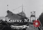 Image of cruiser Atlanta Kearny New Jersey USA, 1941, second 9 stock footage video 65675039357