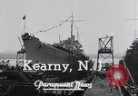 Image of cruiser Atlanta Kearny New Jersey USA, 1941, second 11 stock footage video 65675039357