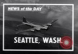 Image of aircraft B-17E Seattle Washington USA, 1941, second 3 stock footage video 65675039358