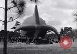 Image of barrage balloons North Carolina United States USA, 1941, second 10 stock footage video 65675039359