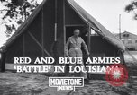 Image of General George C Marshall Louisiana United States USA, 1941, second 8 stock footage video 65675039361