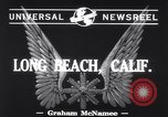 Image of aircraft B-19 Long Beach California USA, 1941, second 2 stock footage video 65675039367