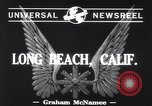 Image of aircraft B-19 Long Beach California USA, 1941, second 3 stock footage video 65675039367