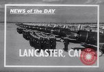 Image of Royal Air Force Pilots Lancaster California USA, 1941, second 1 stock footage video 65675039369
