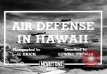 Image of U.S. Army Curtis P-40C aircraft Hawaii USA, 1941, second 1 stock footage video 65675039372