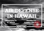 Image of U.S. Army Curtis P-40C aircraft Hawaii USA, 1941, second 2 stock footage video 65675039372