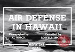 Image of U.S. Army Curtis P-40C aircraft Hawaii USA, 1941, second 3 stock footage video 65675039372