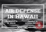 Image of U.S. Army Curtis P-40C aircraft Hawaii USA, 1941, second 4 stock footage video 65675039372