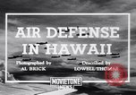 Image of U.S. Army Curtis P-40C aircraft Hawaii USA, 1941, second 5 stock footage video 65675039372