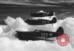 Image of U.S. Army Curtis P-40C aircraft Hawaii USA, 1941, second 9 stock footage video 65675039372