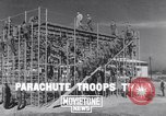 Image of United States Army 503rd Battalion paratroopers Fort Benning Georgia USA, 1941, second 1 stock footage video 65675039374