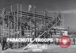 Image of United States Army 503rd Battalion paratroopers Fort Benning Georgia USA, 1941, second 2 stock footage video 65675039374