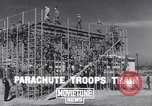 Image of United States Army 503rd Battalion paratroopers Fort Benning Georgia USA, 1941, second 3 stock footage video 65675039374