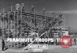 Image of United States Army 503rd Battalion paratroopers Fort Benning Georgia USA, 1941, second 4 stock footage video 65675039374