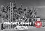 Image of United States Army 503rd Battalion paratroopers Fort Benning Georgia USA, 1941, second 5 stock footage video 65675039374