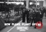Image of Curtiss-Wright factory Columbus Ohio USA, 1941, second 1 stock footage video 65675039379
