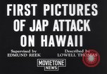 Image of damaged Waikiki residential area Honolulu Hawaii USA, 1941, second 5 stock footage video 65675039382