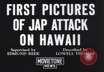 Image of damaged Waikiki residential area Honolulu Hawaii USA, 1941, second 8 stock footage video 65675039382