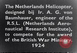 Image of Netherlands helicopter Netherlands, 1941, second 2 stock footage video 65675039385