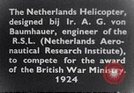 Image of Netherlands helicopter Netherlands, 1941, second 3 stock footage video 65675039385