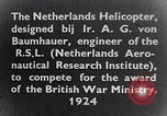 Image of Netherlands helicopter Netherlands, 1941, second 8 stock footage video 65675039385