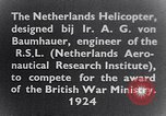 Image of Netherlands helicopter Netherlands, 1941, second 9 stock footage video 65675039385