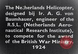 Image of Netherlands helicopter Netherlands, 1941, second 10 stock footage video 65675039385