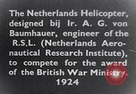 Image of Netherlands helicopter Netherlands, 1941, second 11 stock footage video 65675039385