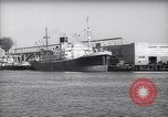 Image of freighter Los Angeles California USA, 1938, second 1 stock footage video 65675039394