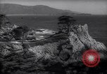 Image of coastline of Monterey Bay California United States USA, 1940, second 2 stock footage video 65675039409