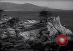 Image of coastline of Monterey Bay California United States USA, 1940, second 4 stock footage video 65675039409