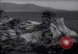 Image of coastline of Monterey Bay California United States USA, 1940, second 8 stock footage video 65675039409