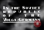 Image of crop harvesting Volga German Republic, 1941, second 4 stock footage video 65675039438
