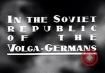 Image of crop harvesting Volga German Republic, 1941, second 5 stock footage video 65675039438