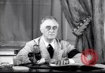 Image of Franklin D Roosevelt Washington DC USA, 1941, second 2 stock footage video 65675039446