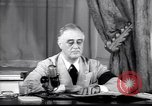 Image of Franklin D Roosevelt Washington DC USA, 1941, second 6 stock footage video 65675039446