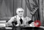 Image of Franklin D Roosevelt Washington DC USA, 1941, second 9 stock footage video 65675039446