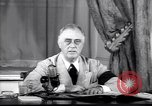 Image of Franklin D Roosevelt Washington DC USA, 1941, second 12 stock footage video 65675039446
