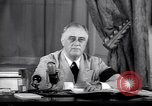 Image of Franklin D Roosevelt Washington DC USA, 1941, second 7 stock footage video 65675039447