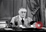 Image of Franklin D Roosevelt Washington DC USA, 1941, second 9 stock footage video 65675039447