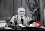 Image of Franklin D Roosevelt Washington DC USA, 1941, second 10 stock footage video 65675039447