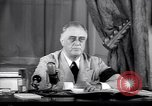 Image of Franklin D Roosevelt Washington DC USA, 1941, second 11 stock footage video 65675039447