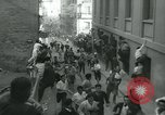 Image of San Fermin Festival Running of the Bulls Pamplona Spain, 1959, second 7 stock footage video 65675039451