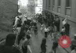 Image of San Fermin Festival Running of the Bulls Pamplona Spain, 1959, second 9 stock footage video 65675039451