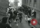 Image of San Fermin Festival Running of the Bulls Pamplona Spain, 1959, second 10 stock footage video 65675039451