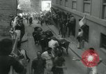 Image of San Fermin Festival Running of the Bulls Pamplona Spain, 1959, second 11 stock footage video 65675039451
