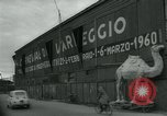 Image of preparation for Carnival of Viareggio Italy, 1960, second 5 stock footage video 65675039455